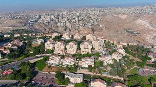 The West Bank settlement of Ma'ale Adumim