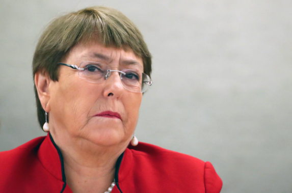 United Nations High Commissioner for Human Rights Michelle Bachelet