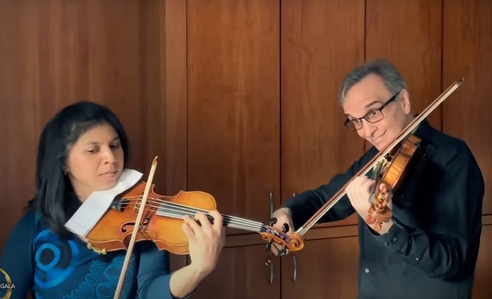 Gil Shaham and Adèle Anthony perform a meditation from the opera Thais