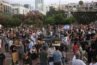 Thousands protesting in Tel Aviv over what they say is a lackluster economic response from the government to the coronavirus crisis