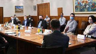 Ministers meet to consider mitigation efforts to slow the spread of coronavirus