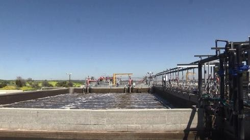 A water purification instillation in southern Israel
