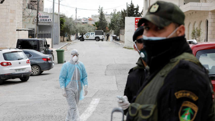 Beit Jala on the West Bank during the coronavirus pandemic