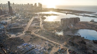 Beirut's port after the blast