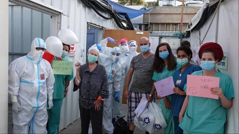 Coronavirus patient, 74, released from Jerusalem hospital after 99 days