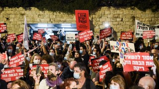 Actors and musicians and others working in the world of culture demonstrated in Jerusalem last week calling for cultural events to resume