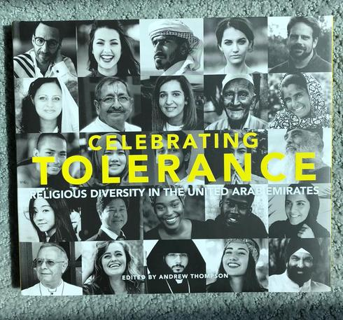 The cover of 'Celebrating Tolerance'