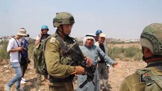 Israeli soldiers, Palestinians clash in the West Bank Palestinian city of Tulkarm
