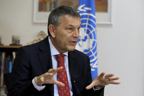 The Commissioner-General of the U.N. agency for Palestinian refugees Philippe Lazzarini