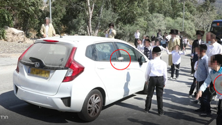 Haredi rioters pelt with rocks cars and busses
