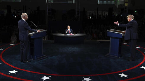 President Donald Trump and Democratic presidential candidate former Vice President Joe Biden participate in the first presidential debate