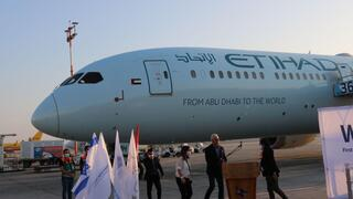 First UAE commercial flight lands at Ben Gurion Airport