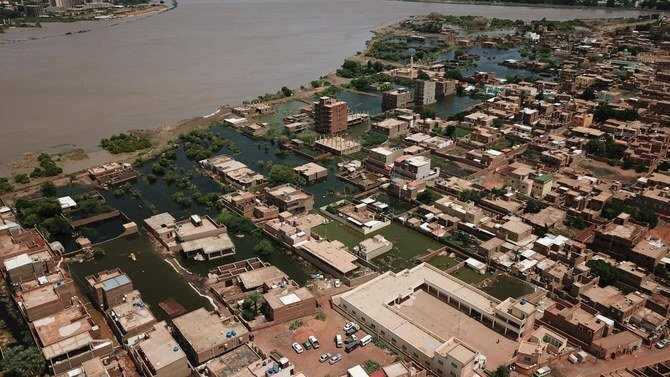 Severe flooding in Sudan in August