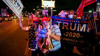 Trump supporters in Florida