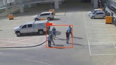 Images from Or Akiva's surveillance system