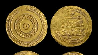 Gold coins from the early Islamic period found in Jerusalem