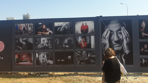 The festival features a project that documents Holocaust survivors during COVID