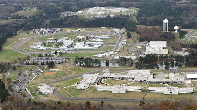 The federal prison in North Carolina where Pollard served his time