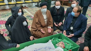 The funeral of slain Iranian nuclear scientist Mohsen Fakhrizadeh on Saturday