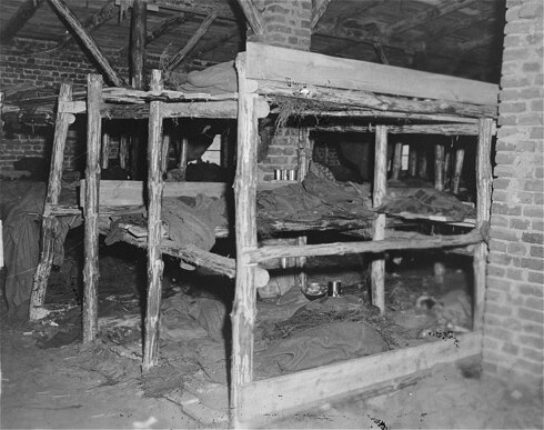 Sleeping quarters in the subcamp at Wöbbelin.