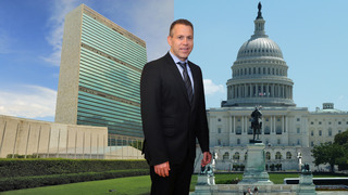 Veteran Likud politician Gilad Erdan was named ambassador to both the United Nations and the United States
