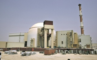 The Bushehr nuclear power plant in Iran
