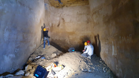 An Ancient water cistern from the Hasmonaean period found in the West Bank
