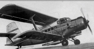 The Soviet Antonov An-2 that the Jewish dissidents planned to hijack to escape the Soviet Union in 1970