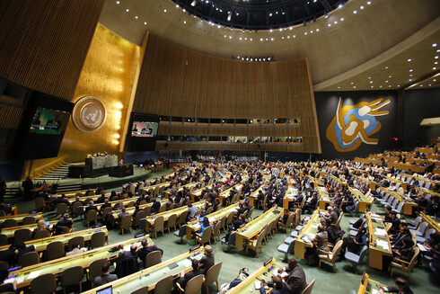 The UN General Assembly during a session in 2017
