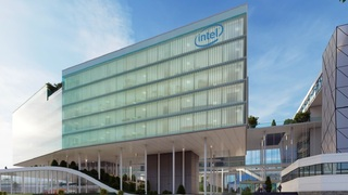 A simulation of Intel's building in Haifa