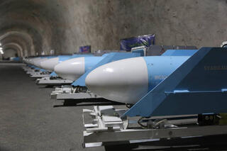 A Revolutionary Guard Corps missile base in Iran