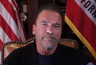 Arnold Schwarzenegger speaking about the riots at the Capitol in Washington, D.C. last week