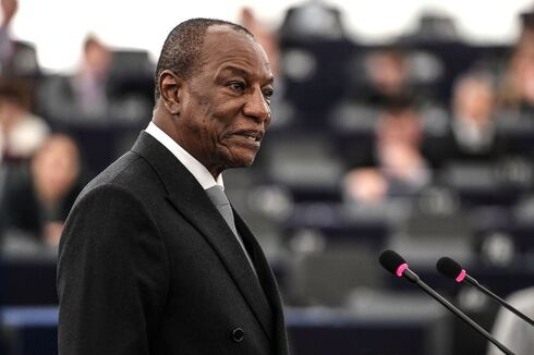 Guinean President Alpha Conde