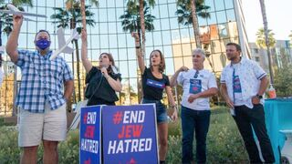 End Jew Hatred activists