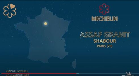 A Michelin star for Assaf Granit and his Parisian restaurant Shabour