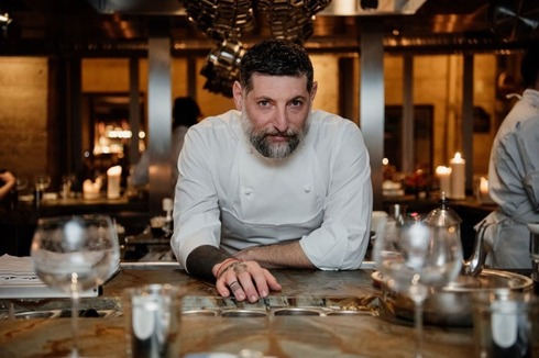 Chef Assaf Granit who was awarded a Michelin star for his Shabour restaurant in Paris