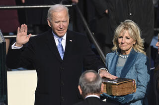 Joe Biden is sworn in as the 46th U.S. president