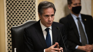 Anthony Blinken testifies before a Senate Foreign Relations Committee hearing on his nomination to be the next U.S. Secretary of State