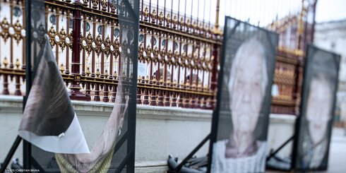 Photos of Holocaust survivors vandalized in Vienna