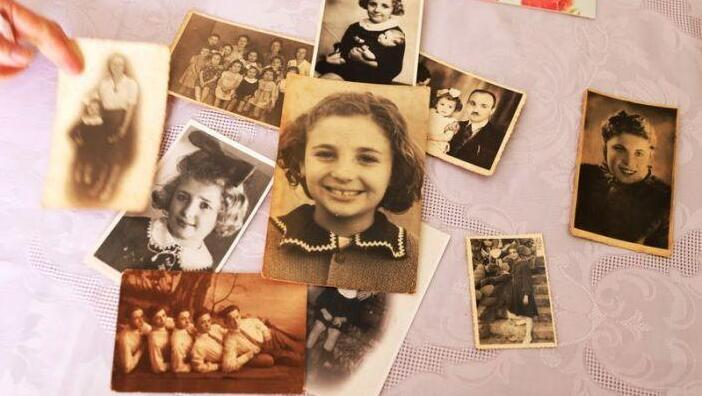 A collection of Holocaust survivor Leah Nebenzahl's family photographs