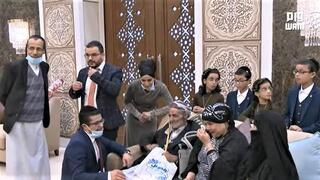 Israel Fayez is reunited in Abu Dhabi with the Yemeni family he left behind
