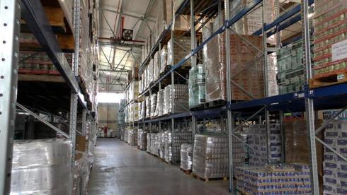 The Latet food bank and warehouse in Tel Aviv, Jan. 2021