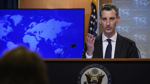 U.S. State Department Spokesperson Ned Price during a press briefing on Tuesday