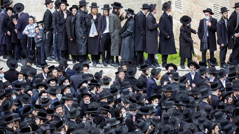 Thousands of ultra-Orthodox Jews participate in funeral for prominent rabbi Meshulam Soloveitchik, in Jerusalem