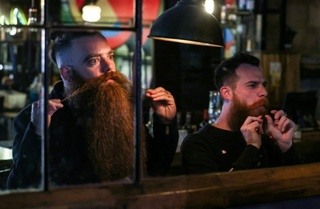 Bar Pinto and Gilad Levi are campaigning for soldiers to be allowed to grow beards