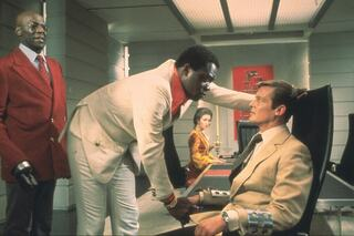 Yaphet Kotto as Dr. Kananga in the 1973 James Bond film 'Live and Let Die'