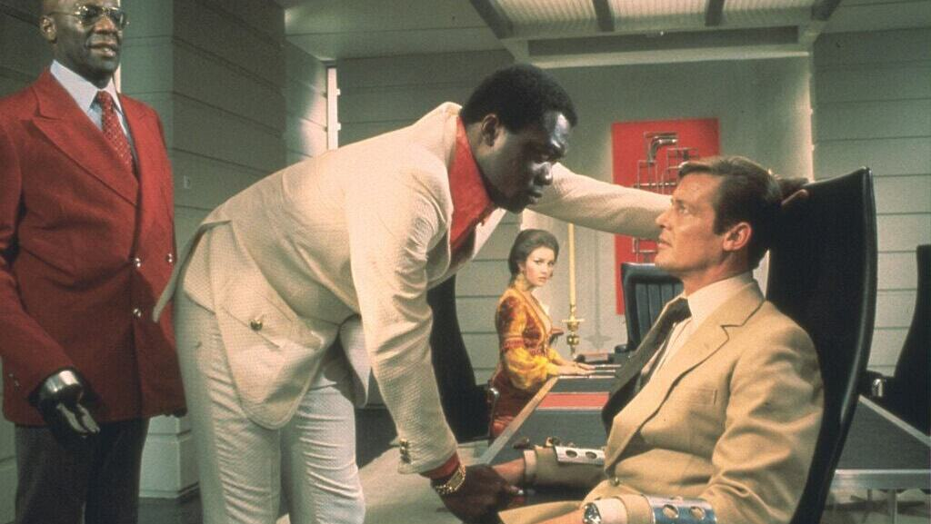 """Mr. Kotto in the 1973 James Bond film """"Live and Let Die."""""""