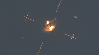 A series of advanced trials of the Iron Dome weapon system