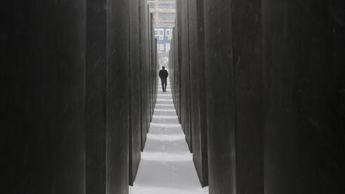 Holocaust Memorial to commemorate the victims of the Nazis in Berlin