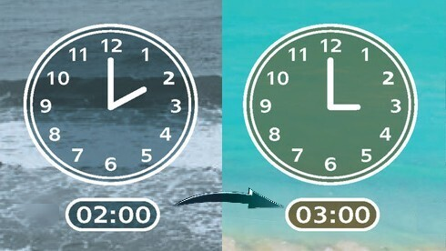 Daylight Saving Time begins in Israel in the early hours of Friday